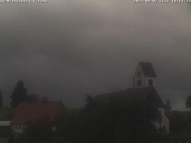 Webcam an der Kirche