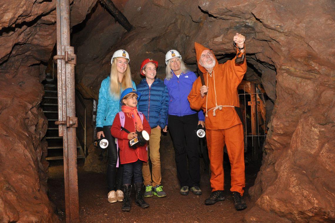 Erzgruben Erlebniswelt  - © Gabriele Fischer , Kur- und Tourismusbüro Oy-Mittelberg