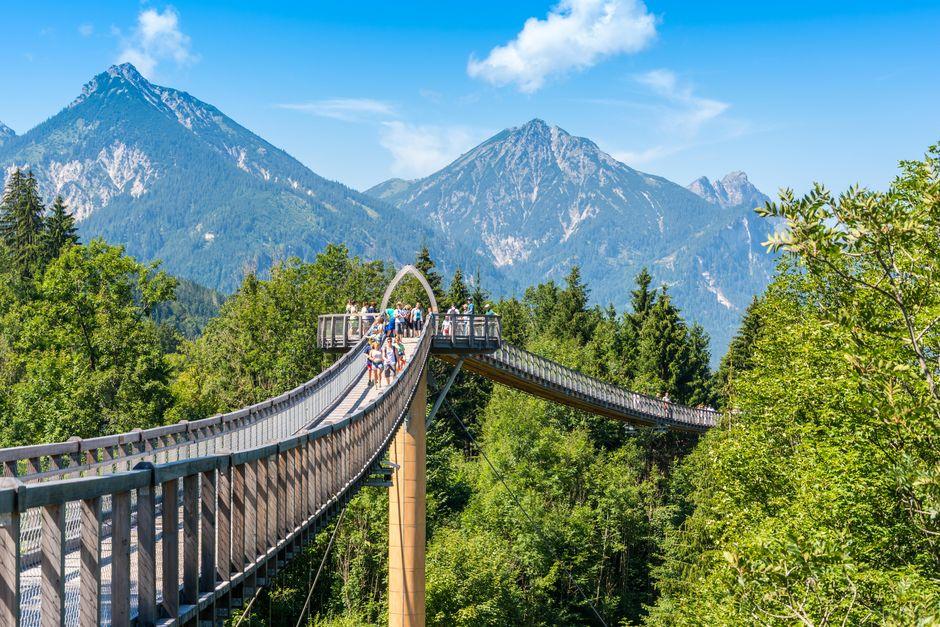 Walderlebniszentrum Ziegelwies  - © Mathias Struck , Kur- und Tourismusbüro Oy-Mittelberg