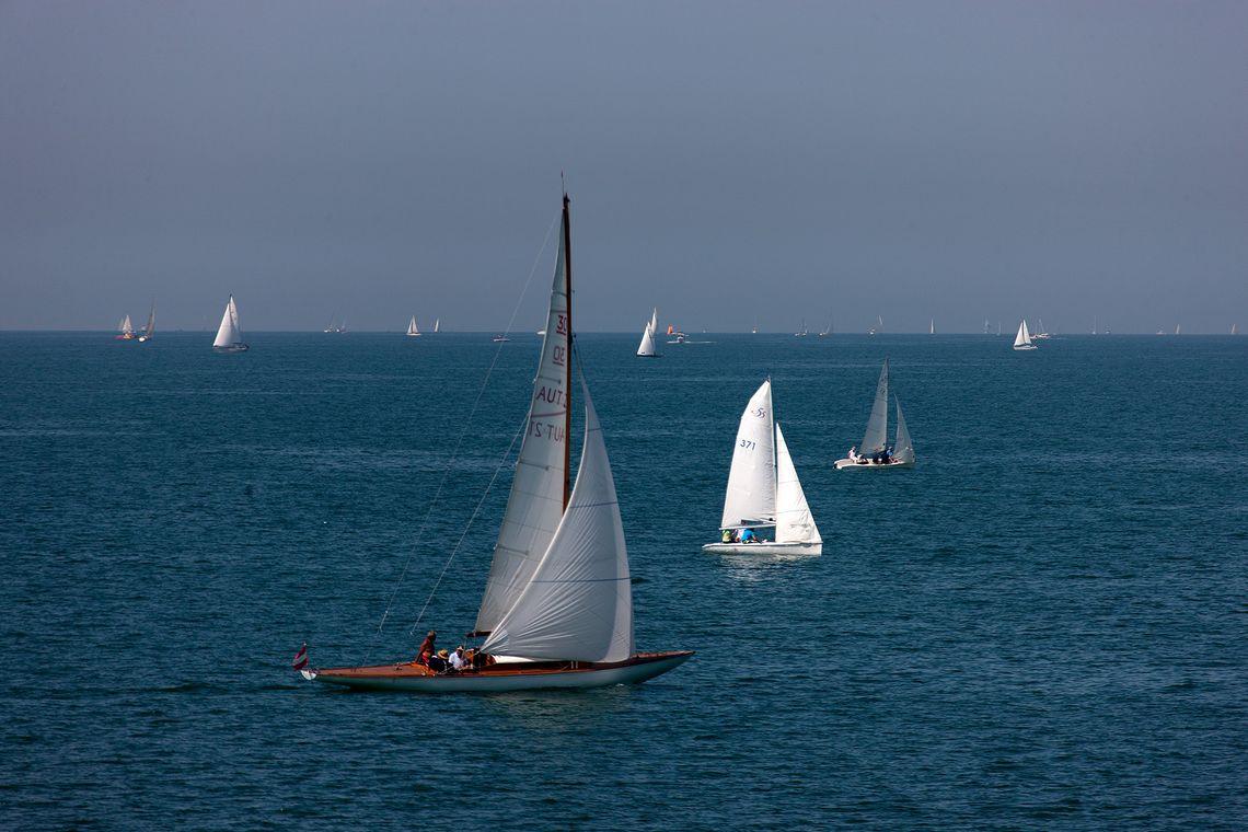 Lindau Segelboote  - © Achim Mende / Lindau Tourismus und Kongress GmbH , Kur- und Tourismusbüro Oy-Mittelberg