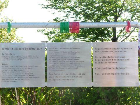 Boccia Spielanleitung   - © Kur- und Tourismusbüro / Gabriele Postner , Kur- und Tourismusbüro Oy-Mittelberg