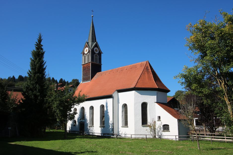 St. Wendelin Kapelle in Faistenoy  - © Gabriele Postner , Kur- und Tourismusbüro Oy-Mittelberg