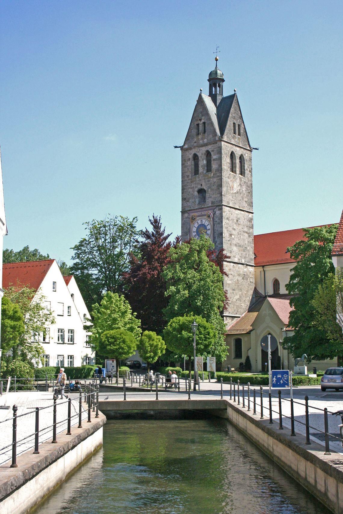 Frauenkirche  - © Günter Walcz / Stadtinformation Memmingen , Kur- und Tourismusbüro Oy-Mittelberg