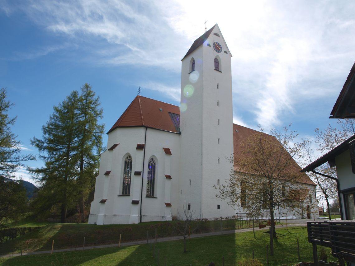 Wallfahrtskirche Maria-Rain  - © Karl Gast , Kur- und Tourismusbüro Oy-Mittelberg