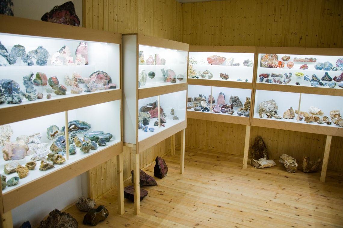 Ausstellung Steinerlebniswelt  - © Tobias Klöck , Kur- und Tourimusbüro Oy-Mittelberg
