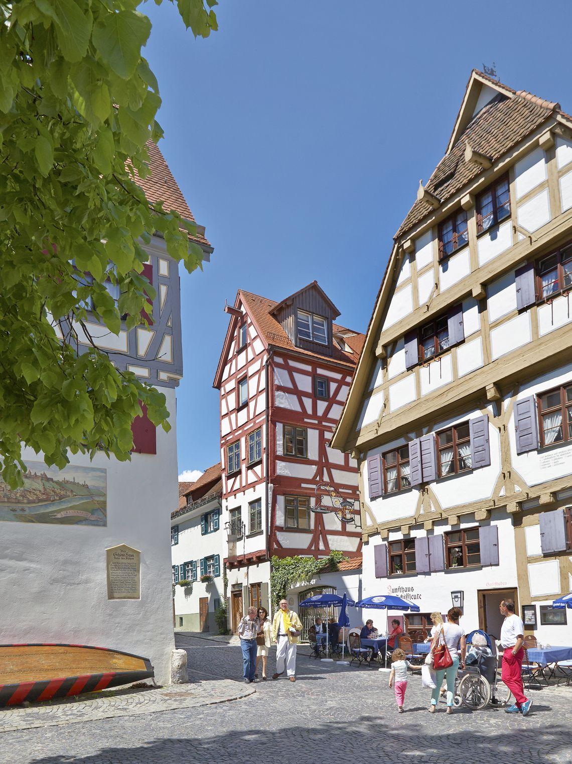 Fischer und Gerberviertel  - © Ulm/Neu-Ulm Touristik GmbH / Stadtarchiv Ulm , Kur- und Tourismusbüro Oy-Mittelberg
