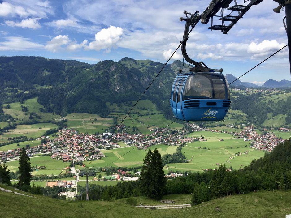 Hornbahn Hindelang  - © Hornbahn Hindelang , Kur- und Tourismusbüro Oy-Mittelberg