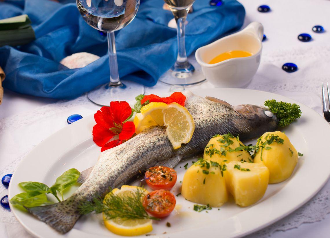 Gasthof Rose Fischteller  - © Hotel Gasthof Rose / Alfred Endres , Kur- und Tourismusbüro Oy-Mittelberg