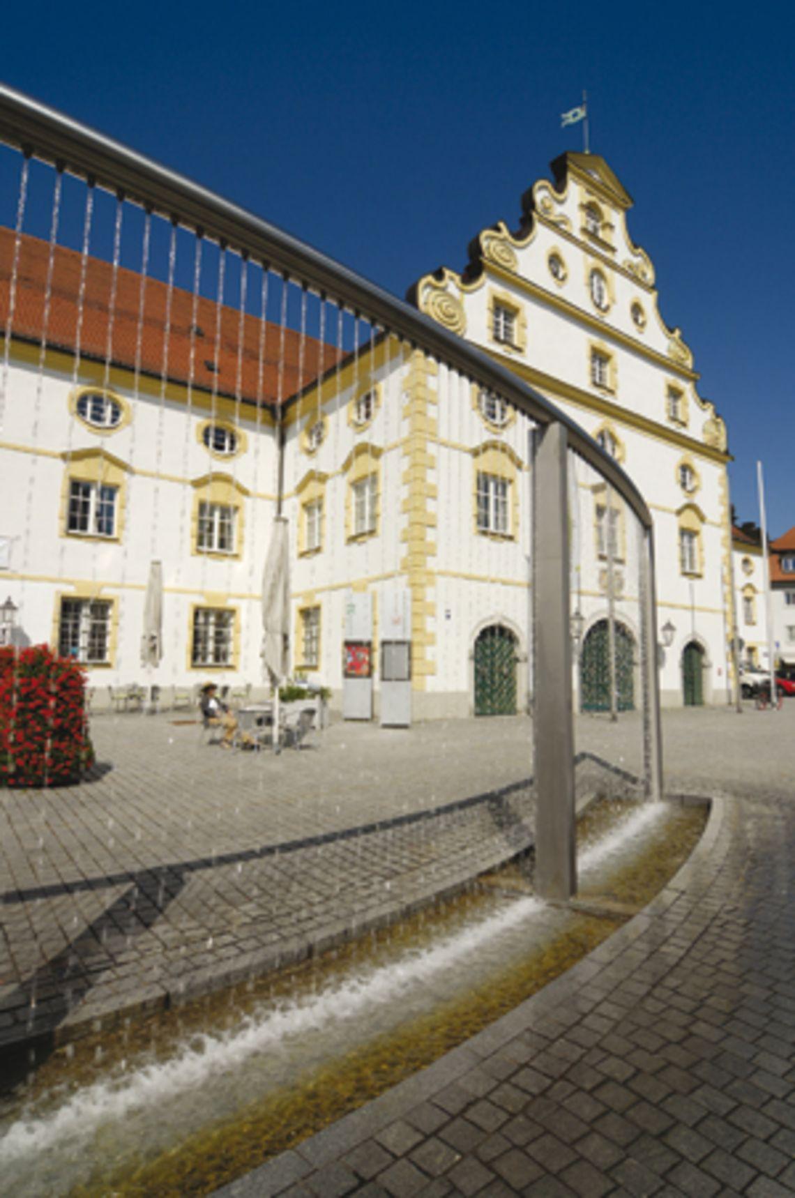 Kornhausbrunnen  - © Kempten Tourismus , Kur- und Tourismusbüro Oy-Mittelberg