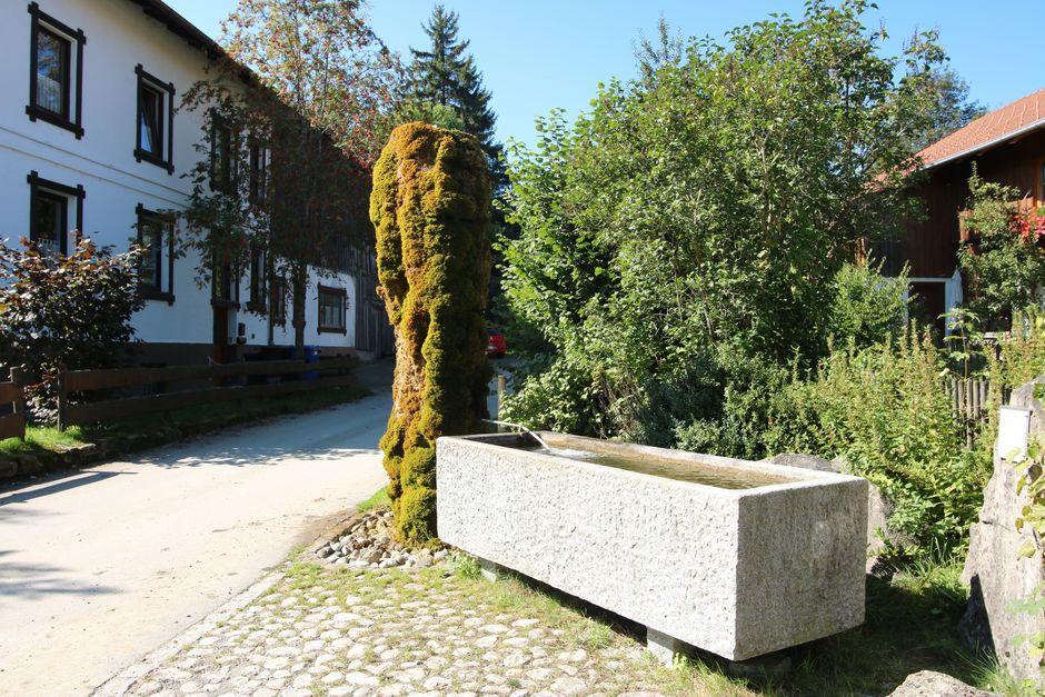 Brunnen in Faistenoy  - © Gabriele Postner , Kur-und Tourismusbüro Oy-Mittelberg
