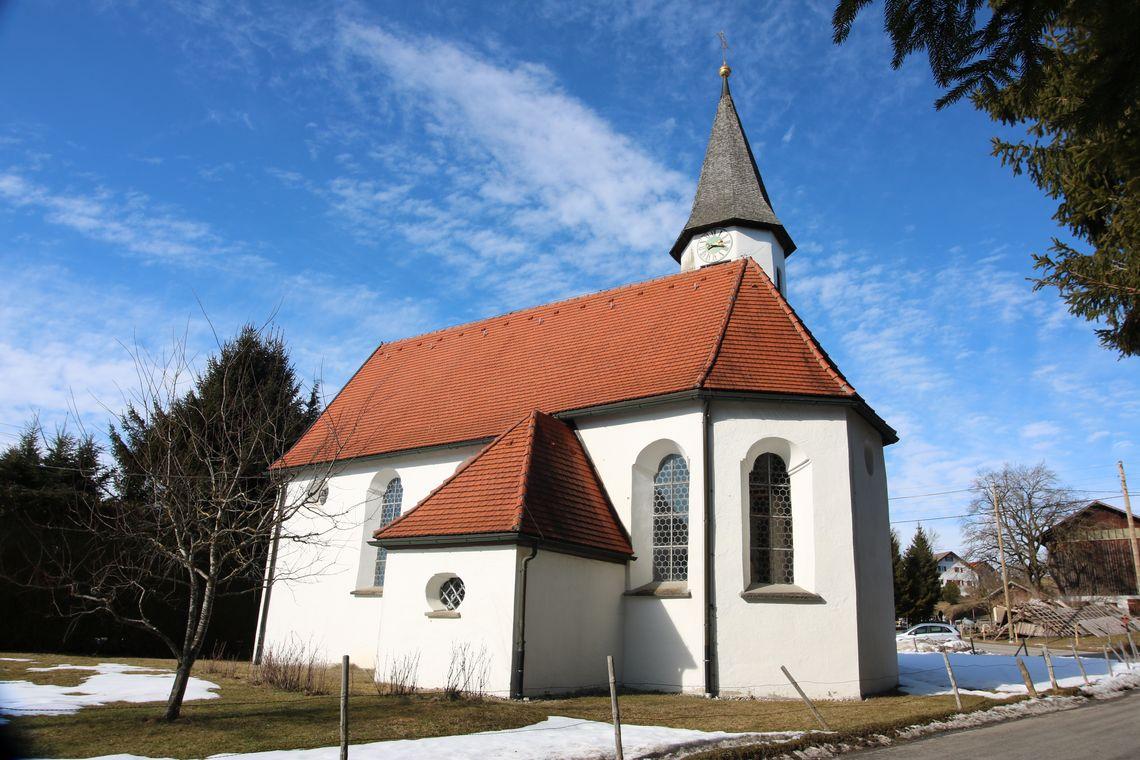 Südansicht Kapelle in Bachtel  - © Gabriele Postner , Kur- und Tourismusbüro Oy-Mittelberg