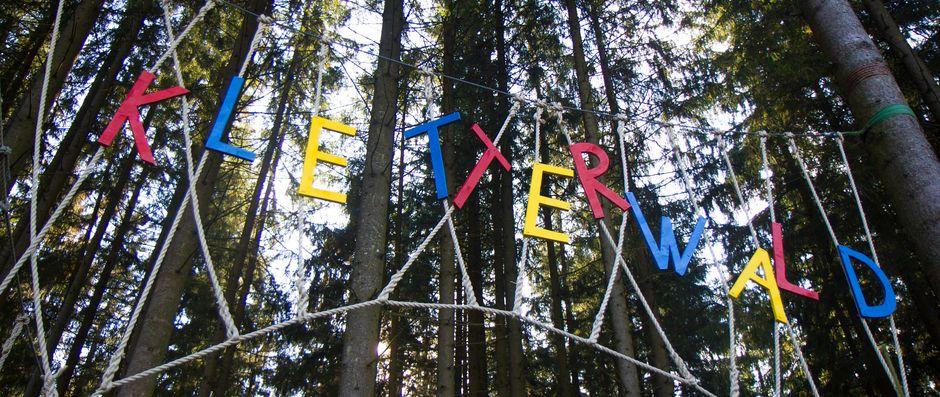 Kletterwald Grüntensee  - © Volker Anders , Kur- und Tourismusbüro Oy-Mittelberg