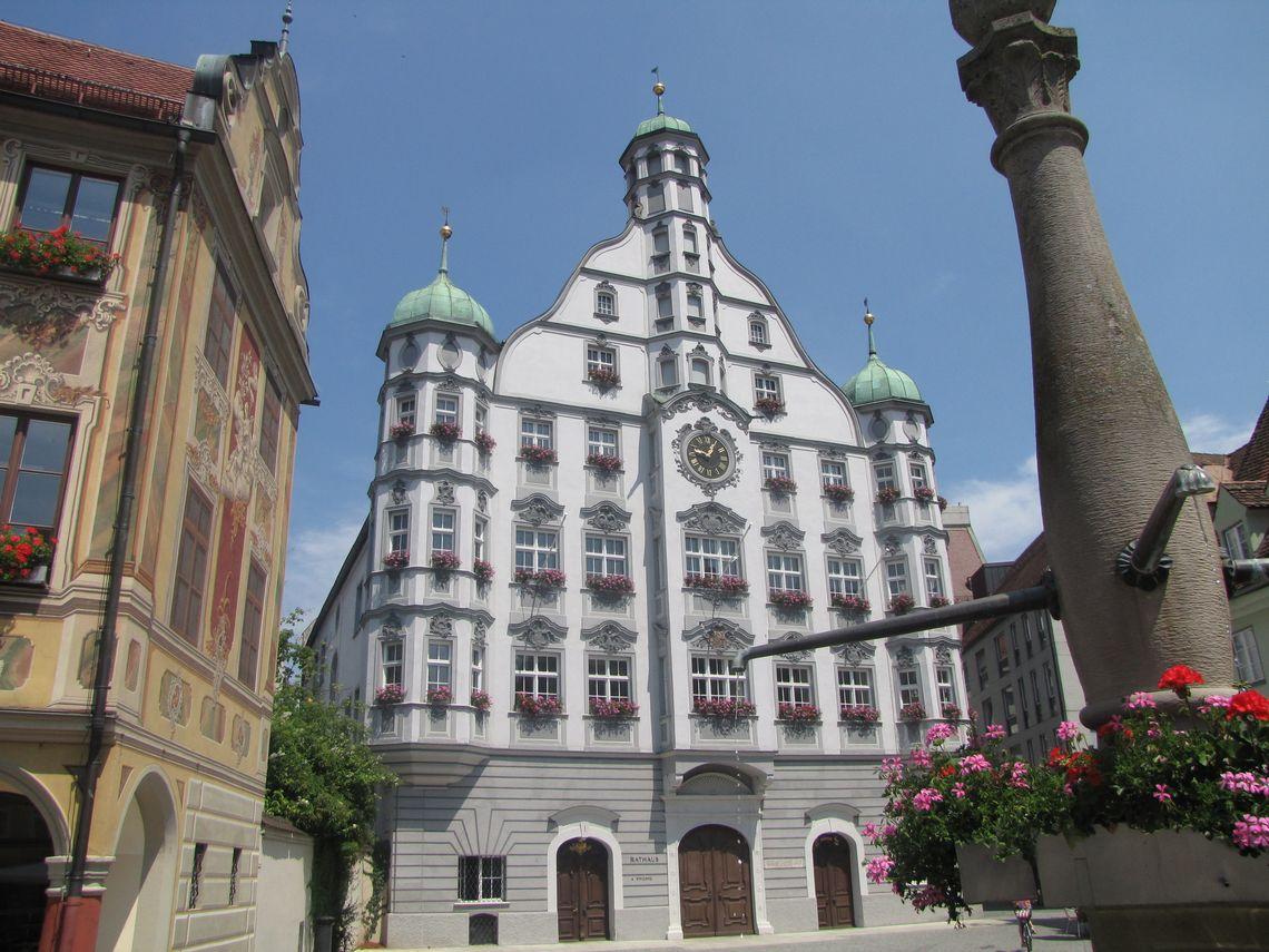 Blick aufs Rathaus  - © Stadt Memmingen , Kur- und Tourismusbüro Oy-Mittelberg