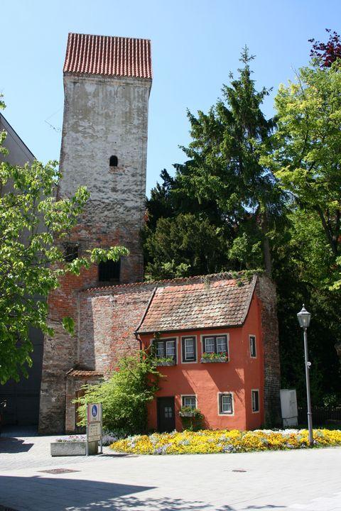 Hexenturm  - © Günter Walcz / Stadtinformation Memmingen , Kur- und Tourismusbüro Oy-Mittelberg