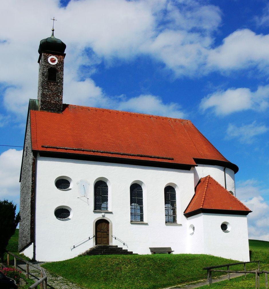 St. Wolfgang Kapelle in Haslach  - © Gabriele Postner , Kur- und Tourismusbüro Oy-Mittelberg