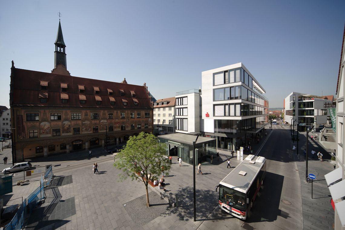 Ulmer Rathaus  - © Ulm/Neu-Ulm Touristik GmbH / Stadtarchiv Ulm , Kur- und Tourismusbüro Oy-Mittelberg