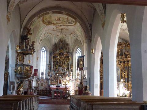 Wallfahrtskirche Heilig Kreuz Maria Rain   - © Bernd Jacob , Kur- und Tourismusbüro Oy-Mittelberg