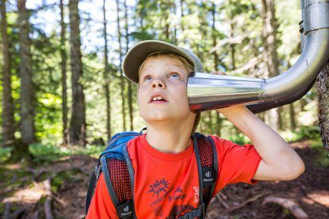 Naturerlebnisweg am Söllereck: Was gibt es zu hören?  - © Oberstdorf / Kleinwalsertal Bergbahnen; Fotograf: Alex Savarino , Kur- und Tourismusbüro Oy-Mittelberg