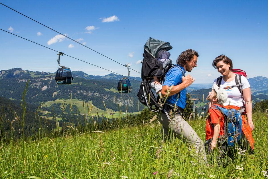 Familienspaß am Söllereck  - © Oberstdorf / Kleinwalsertal Bergbahnen; Fotograf: Alex Savarino , Kur- und Tourismusbüro Oy-Mittelberg