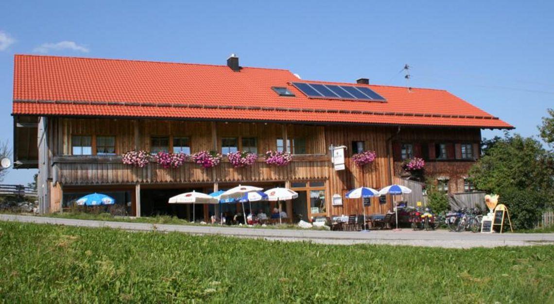 Almcafé Schnakenhöhe Außenansicht  , Kur- und Tourismusbüro Oy-Mittelberg