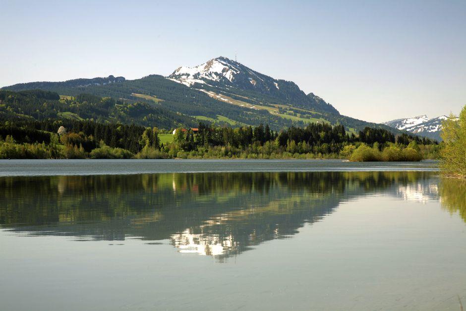 Rottachsee in Petersthal Oy-Mittelberg  - © EHME Mediendesign , Kur- und Tourismusbüro Oy-Mittelberg