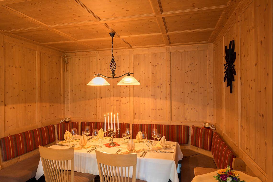 Restaurant Hotel am Sonnenhang  - © Hotel am Sonnenhang , Kur- und Tourismusbüro Oy-Mittelberg