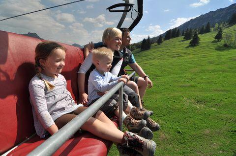 Iselerbahn Oberjoch  - © Bergbahnen Hindelang-Oberjoch AG / Hr. Kleiner , Kur- und Tourismusbüro Oy-Mittelberg