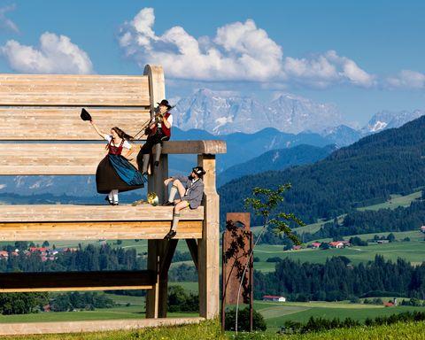 Mittelberger Tradition  - © Erwin Reiter , Kur- und Tourismusbüro Oy-Mittelberg