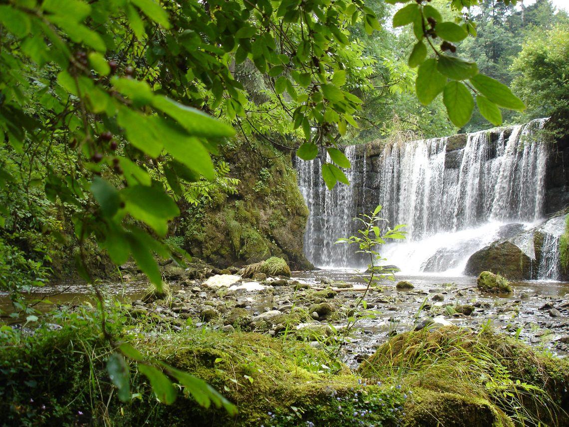 Wasserfall Tobel  - © Jens Hornung , Kur- und Tourismusbüro