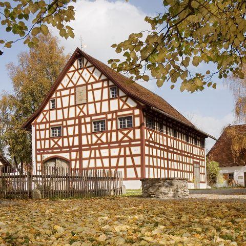 Zehentstadel   - © Tanja Kutter/Bauernhofmuseum , Kur- und Tourismusbüro Oy-Mittelberg