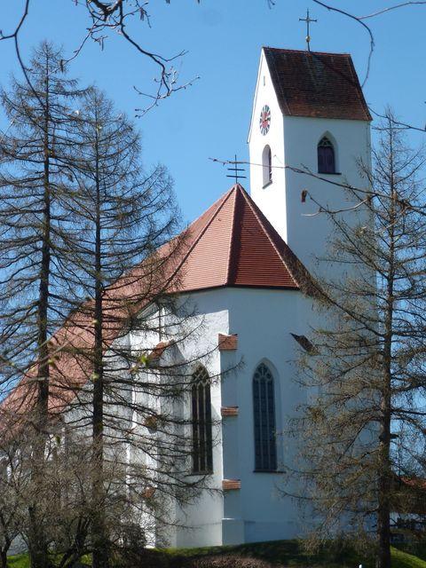 Wallfahrtskirche Maria Rain im April  - © Bernd Jacob , Kur- und Tourismusbüro Oy-Mittelberg