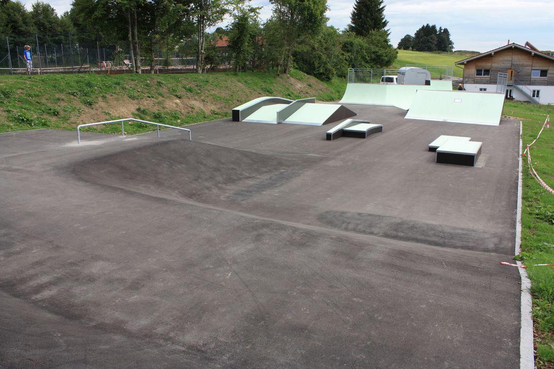 Skatepark Oy in Oy-Mittelberg  - © 5 Stars GmbH , Kur- und Tourismusbüro Oy-Mittelberg