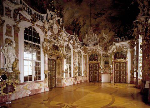 Ein Prunkraum in der Residenz: Thronsaal  - © Kempten Tourismus , Kur- und Tourismusbüro Oy-Mittelberg