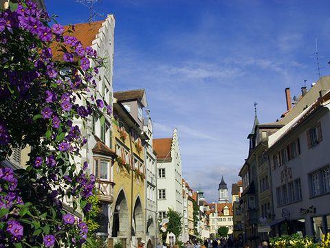 Lindau Altstadt Maximilianstraße  - © David Knipping / Lindau Tourismus und Kongress GmbH , Kur- und Tourismusbüro Oy-Mittelberg