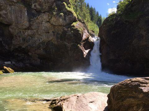 Buchenegger Wasserfälle  - © Hündle Erlebnisbahn / Monika Prestel , Kur- und Tourismusbüro Oy-Mittelberg