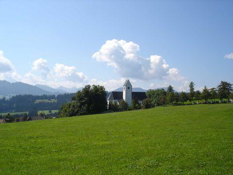 Pfarrkirche St. Michael in Mittelberg Oy-Mittelberg  - © Jens Hornung , Kur- und Tourismusbüro Oy-Mittelberg