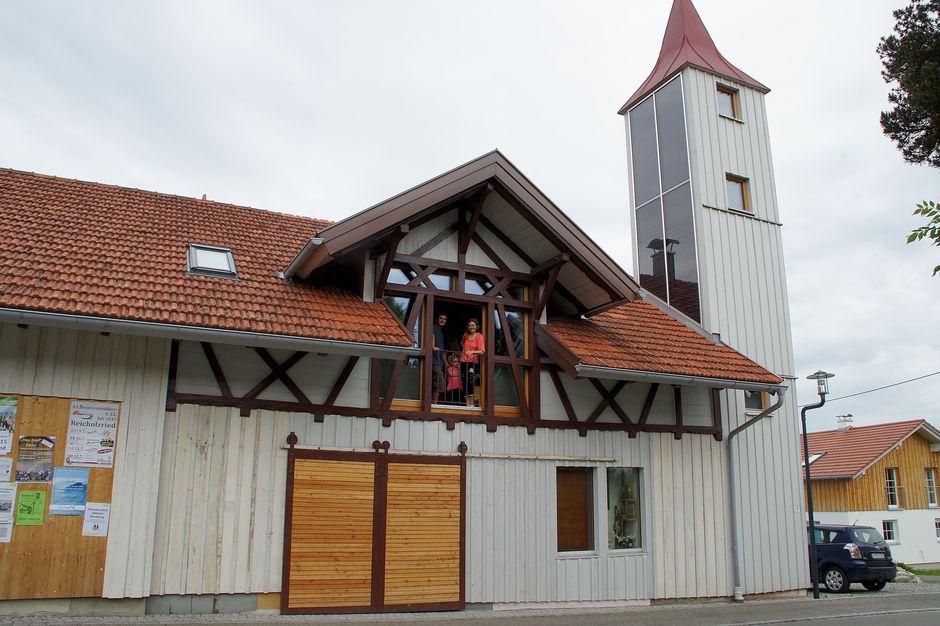Ehemaliges Feuerwehrhaus Petersthal  - © Christian Waldmann , Kur- und Tourimusbüro Oy-Mittelberg