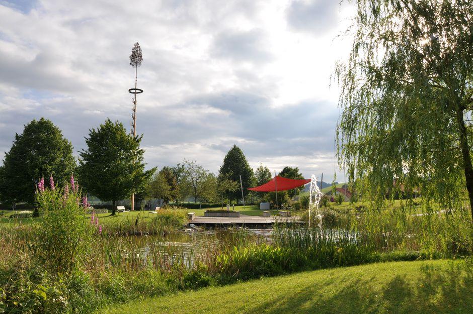 Kurpark in Oy  - © Jens Hornung , Kur-und Tourismusbüro