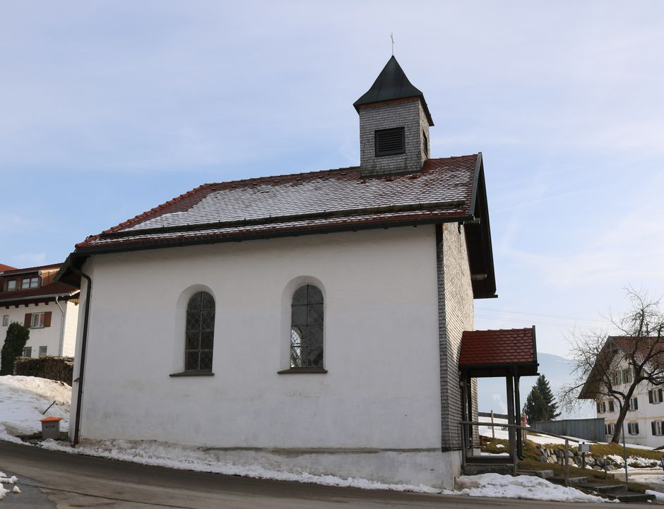 Kapelle St. Martin Guggemoos  - © Gabriele Postner , Kur- und Tourismusbüro Oy-Mittelberg