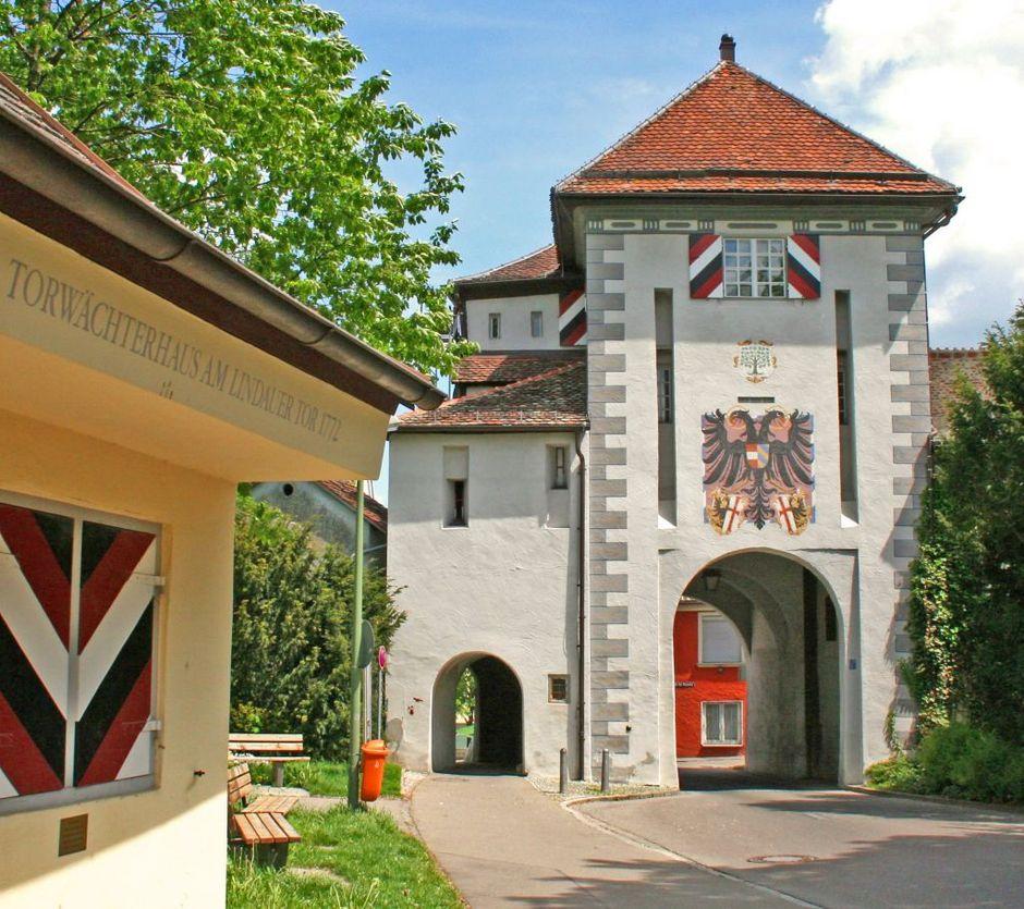 Lindauer Tor  - © Günter Walcz / Stadtinformation Memmingen , Kur- und Tourismusbüro Oy-Mittelberg